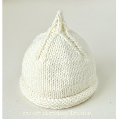 Beanie \'Classic Pixie\' Knitting pattern by Rocket Clothing London ...