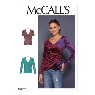 McCall's Misses' Tops M8025 - Sewing Pattern