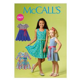 McCall's Chidren's/Girls' Dresses M6915 - Sewing Pattern