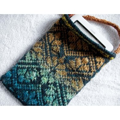 Kindle Nook I Pad Case Knitting Pattern By Eileen Vito Knitting