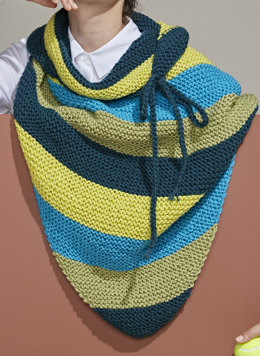 Large Shawl in Bergere de France Ideal - 60445-04 - Downloadable PDF