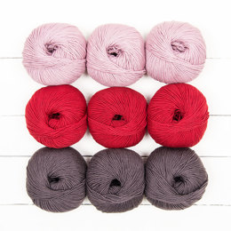 Drachenfels by Melanie Berg - MillaMia Naturally Soft Merino 9 Ball Colour Pack