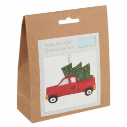 Trimits Felt Decoration Kit: Christmas Truck Kit