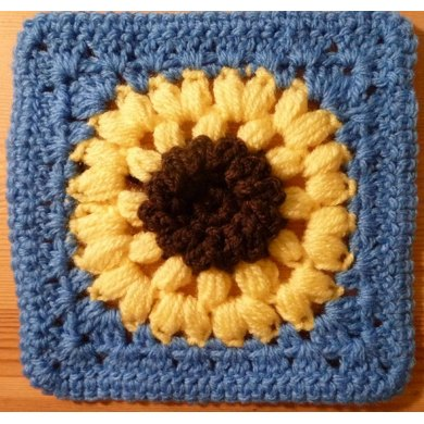 Sunflowers Granny Square