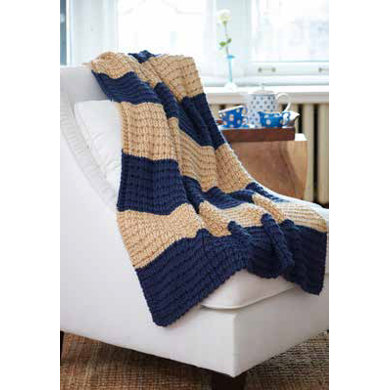 Easy Breezy Knit Afghan In Caron Simply Soft Downloadable Pdf