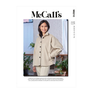 McCall's Misses' Jacket M8210 - Sewing Pattern
