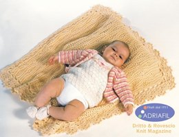Sofia Set with Blanket in Adriafil Azzurra, Merino, Avantgarde & Regina - Downloadable PDF