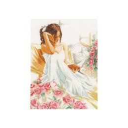 Lanarte A Quiet Moment Cross Stitch Kit - Multi