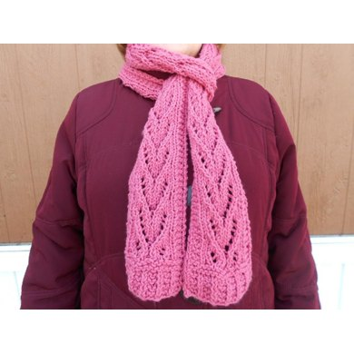 Rosevine Lace Scarf