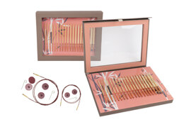 Knitter's Pride Bamboo Interchangeable Needle Set (10 pairs)