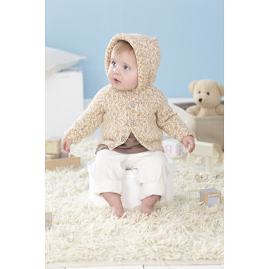 Baby and Child's Cardigans in Sirdar Snuggly Peekaboo DK  - 4456