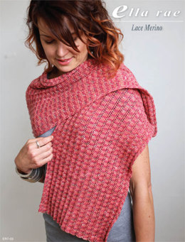 Wrap in Ella Rae Lace Merino - ER7-03 - Downloadable PDF