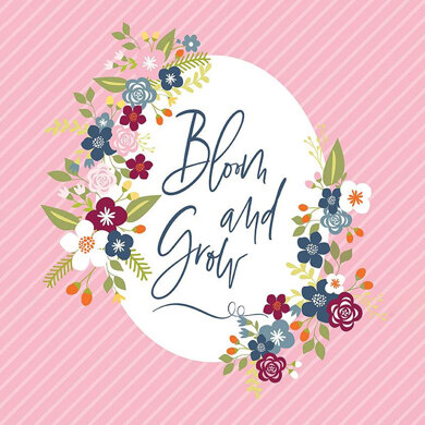 Riley Blake Bloom and Grow  - RBP10116P
