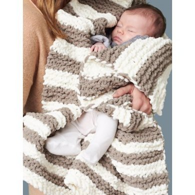 In A Wink Baby Blanket In Bernat Baby Blanket Crochet Patterns
