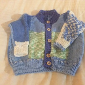 d76751b01e56 Cardigans in Sirdar Snuggly 4 Ply 50g - 3941 knitting project by ...