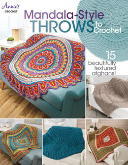 Mandala-Style Throws to Crochet by Annie's Crochet