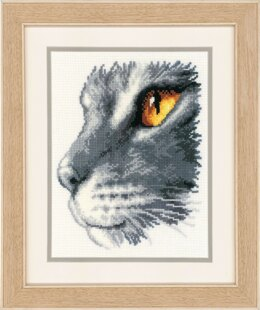 Vervaco Majesty II Cat Cross Stitch Kit