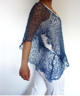Butterfly See-Through Coverup