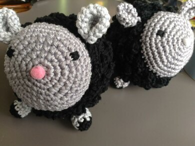 Amigurumi Sheep Plushie