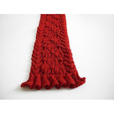 Frilled City Scarf