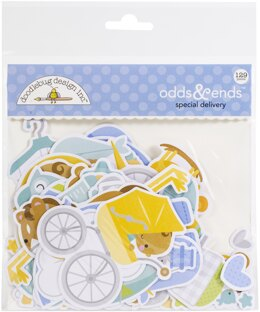 Doodlebug Odds & Ends Die-Cuts - Special Delivery