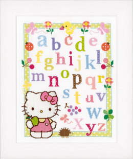 Vervaco Counted Cross Stitch: Hello Kitty - Learning ABC