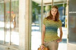 Top in Textured Pattern in Schachenmayr Tahiti - 2179 - Downloadable PDF