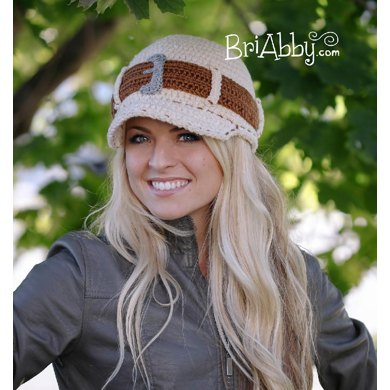 Crochet Jeans Style Hat (US Terms)