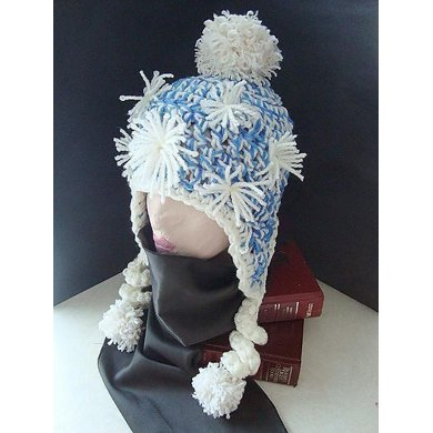 353, SKI BUNNY HAT, sizes age 3 to adult