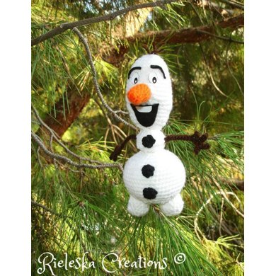 Knitting Pattern For Olaf The Snowman : Olaf the snowman From Frozen Crochet pattern by RIELES ...