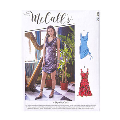 McCall's Misses' Dresses M8106 - Sewing Pattern
