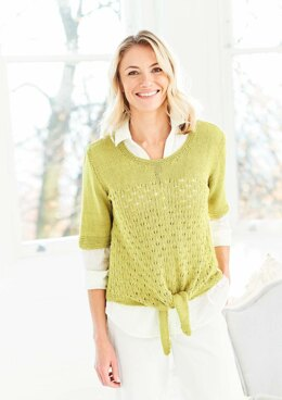 Cardigan and T-Shirt in Stylecraft Naturals Bamboo & Cotton DK - 9754 - Downloadable PDF