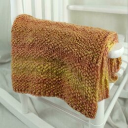 ZigZag Baby Blanket in Cascade Yarns Cherub Chunky Wave - C346 - Downloadable PDF