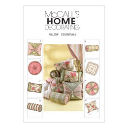 McCall's Pillow Essentials M4410 - Paper Pattern Size All Sizes In One Envelope