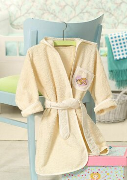 Friends Forever - Bath Robe in Anchor - Downloadable PDF