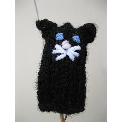 Kitty Cat Finger Puppet