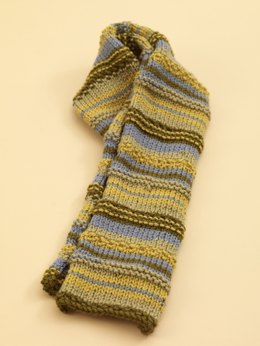 Wandering Stripe Scarf in Lion Brand Vanna's Choice - 70535AD