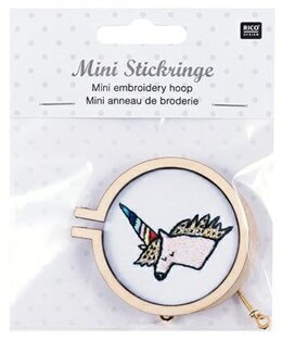 Rico Mini Embroidery Hoop Round, L - 1 Piece