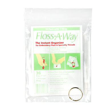 Sehlbach & Whiting Floss-A-Way 36 Pack With Ring