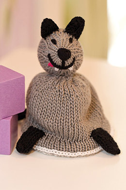 Wolf in Sheep's Clothing Reversible Toy in Tahki Yarns Cotton Classic