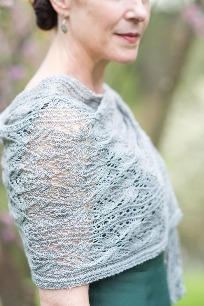 Murron Shawl Knitting Pattern By Jennifer Wood