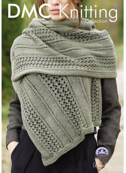 Mesh Effect Scarf in DMC Woolly - 15204L/2