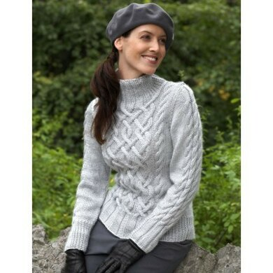 0e20e04a1fec4 Sterling Cables Sweaters in Bernat Satin. Free. Free pattern