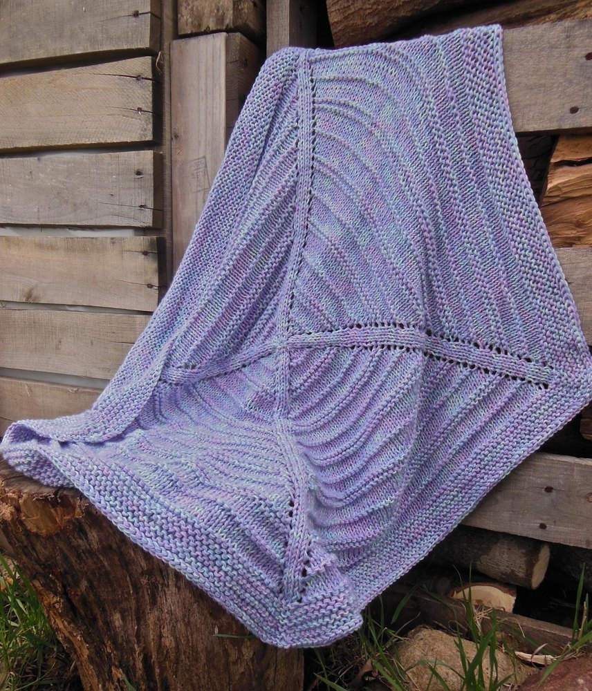 Knitting Outside The Box Errata : Think outside the box baby blanket knitting pattern by