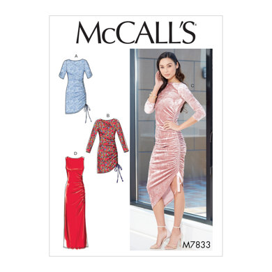 McCall's Misses' Dresses M7833 - Sewing Pattern