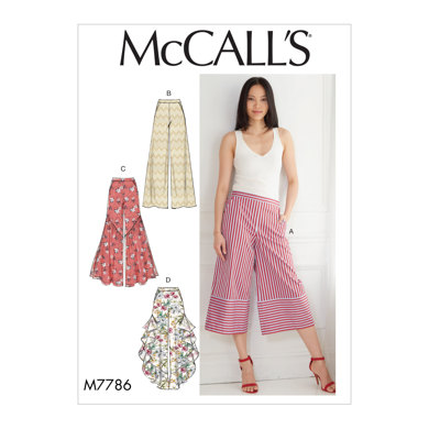 McCall's Misses' Pants M7786 - Sewing Pattern