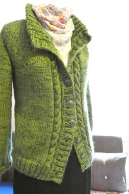 Sona Celtic Cable Cardigan