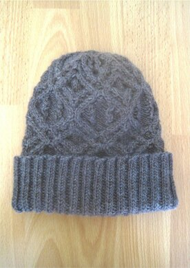 9c8d4f1ddf1 Matilda Cabled Beanie Hat. £2.70. off. Downloadable pattern. Independent  Designer. By Suzie Sparkles