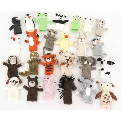 Pet Parade Finger Puppets