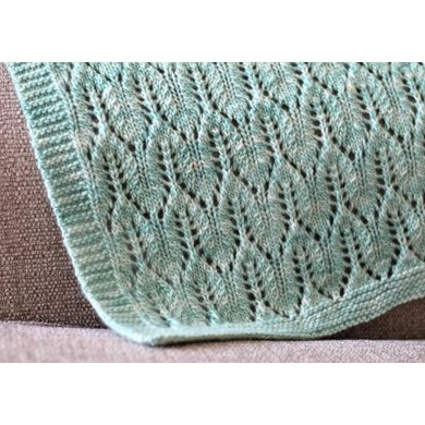 Matana Worsted Blanket Knitting Pattern By The Woolly Stitch